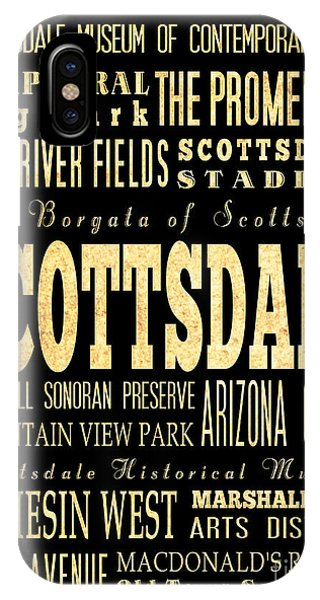 Attraction And Famous Places Of Scottsdale Georgia Phone Case by Joy House Studio