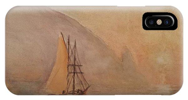 Au-dag After I. K. Aivazovsky IPhone Case