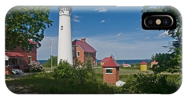 Au Sable Point Lighthouse  IPhone Case