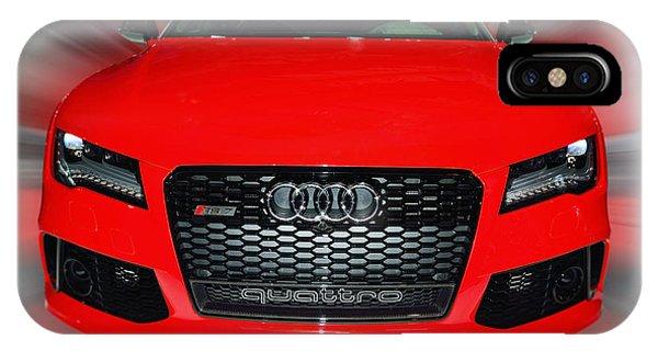 Audi Quattro Rs7 2014 IPhone Case