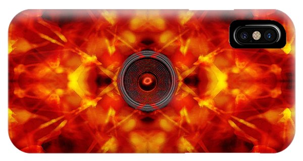 Audio Kaleidoscope IPhone Case