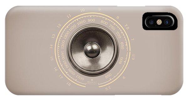 Audio Retro 6 IPhone Case