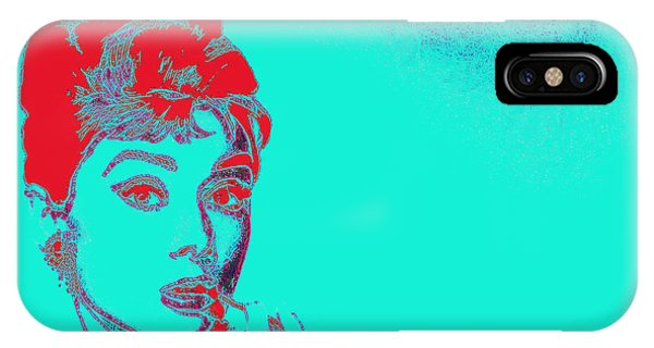 Audrey Hepburn 20130330v2p128 IPhone Case