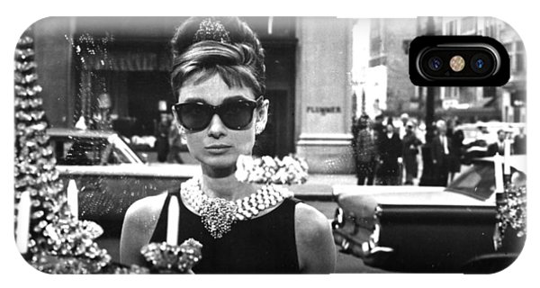 Audrey Hepburn Breakfast At Tiffany's IPhone Case