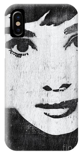Actor iPhone Case - Audrey Hepburn by Tim Gainey