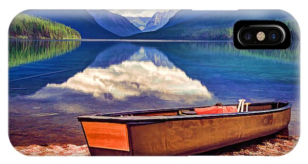 August Afternoon At The Lake IPhone Case