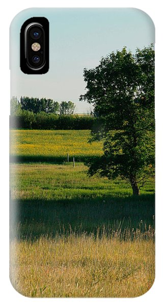 August In Tugaske IPhone Case