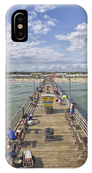 August On The Pier IPhone Case