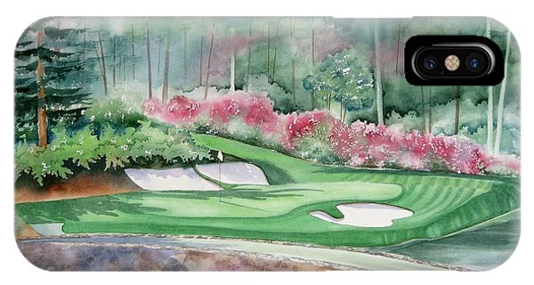 Augusta National 12th Hole IPhone Case