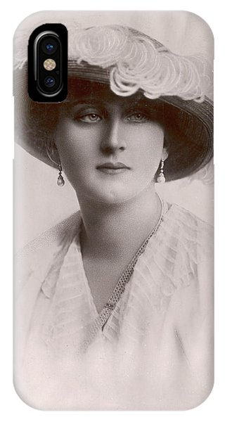 Augusta, Queen Of Portugal Augusta Phone Case by Mary Evans Picture Library