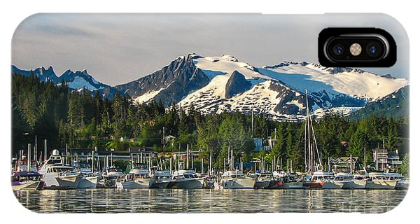 Glacier Bay iPhone Case - Auke Bay by Robert Bales