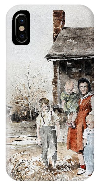 Aunt Peg IPhone Case