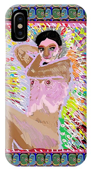 Aura Art Effect Of Love In Heart Showering Sparkle Colors Navin Joshi Rights Managed Images Graphic  IPhone Case