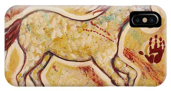 Aura Spirit Horse IPhone Case
