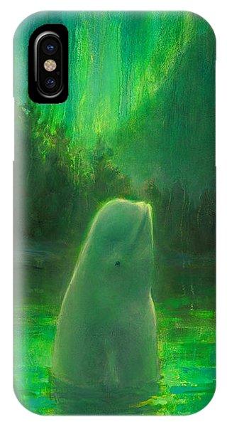 Aurora Beluga IPhone Case