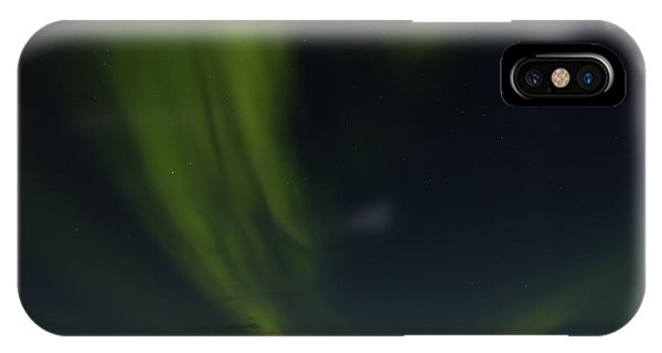 Aurora Borealis Over Iceland IPhone Case