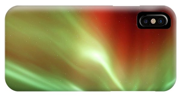 Astrophysical iPhone Case - Aurora In The Night Sky by Detlev Van Ravenswaay