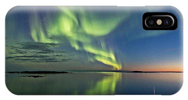 Aurora Sunset IPhone Case