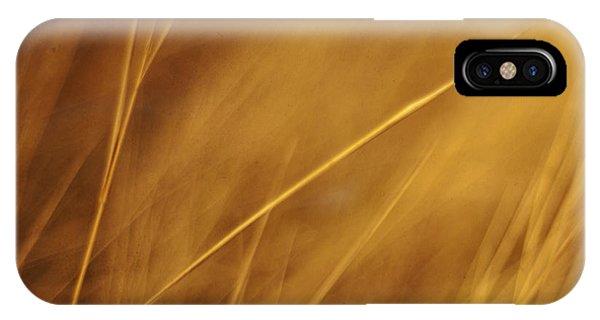 Grass iPhone Case - Aurum by Priska Wettstein