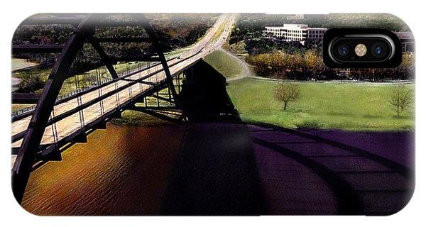 Austin 360 Bridge IPhone Case