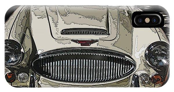Austin Healey 3000 Mk Ill IPhone Case