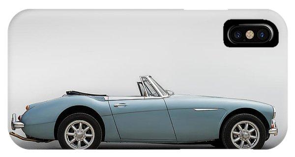 Austin iPhone Case - Austin Healey 3000 Mkiii by Douglas Pittman
