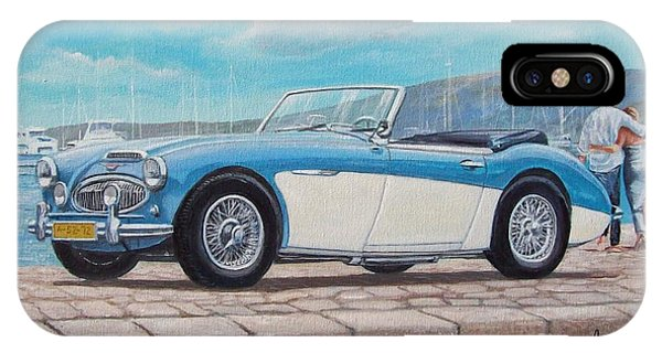 Austin Healey Bj8 Mark IIi IPhone Case