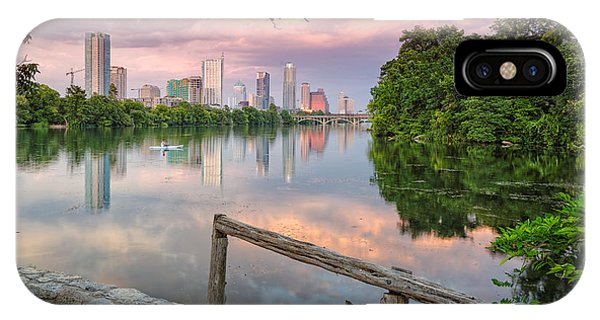 Austin Skyline From Lou Neff Point IPhone Case