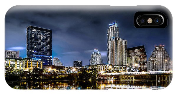 Austin Skyline Hdr IPhone Case
