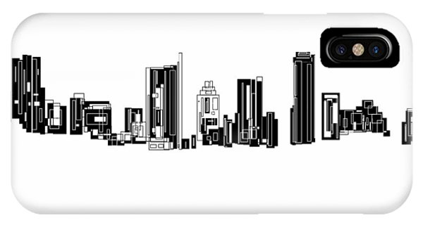 Austin Skyline II IPhone Case