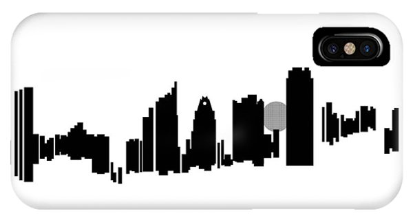 Austin Skyline IPhone Case