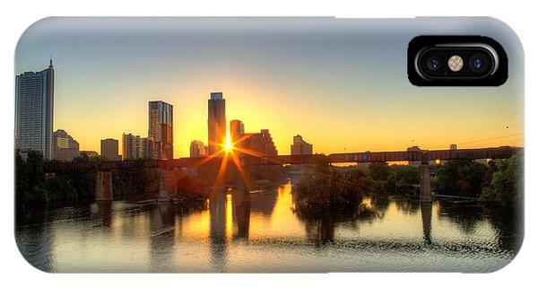 Austin Sunrise IPhone Case