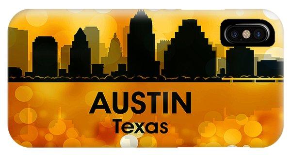 Austin Tx 3 IPhone Case