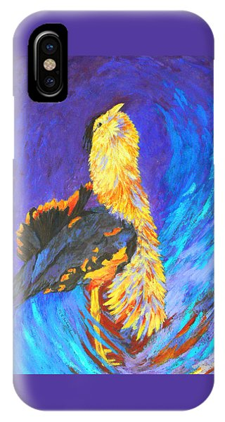 Australian Bustard Displaying IPhone Case
