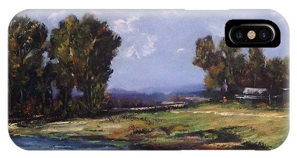 Australian Landscape By The Water  IPhone Case