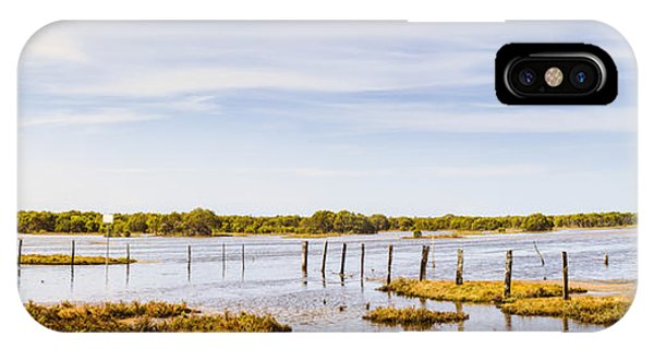 Qld iPhone Case - Australian Mangrove Landscape Panorama by Jorgo Photography - Wall Art Gallery