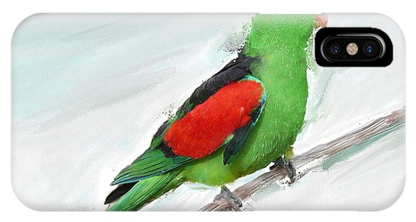 Australian Parrot IPhone Case