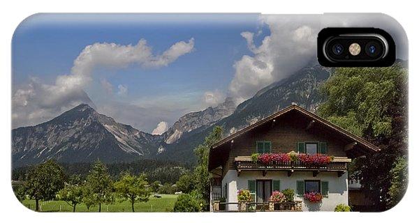 Austrian Cottage IPhone Case