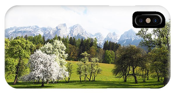Austrian Landscape In Spring Phone Case by Brooke T Ryan