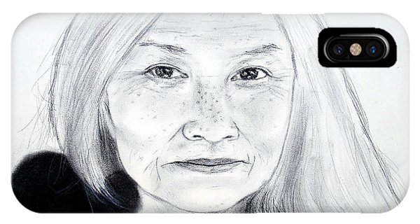 Author And Activist Maxine Hong Kingston IPhone Case