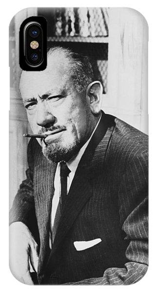 Author John Steinbeck IPhone Case