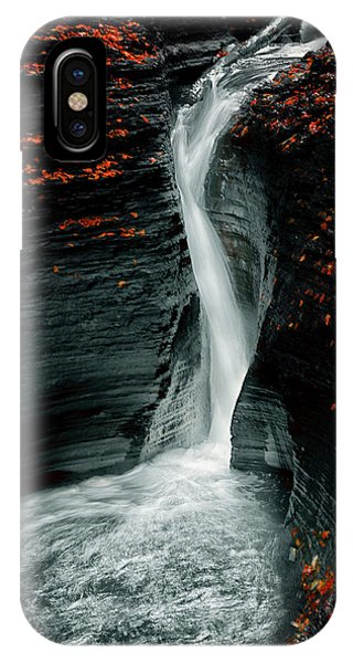 Flow iPhone Case - Autume by Larry Deng