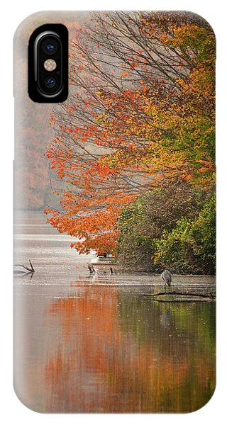 Autumn - Lake Logan IPhone Case