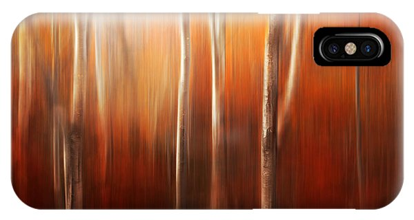 Abstract iPhone Case - Autumn Abstract by Magda  Bognar