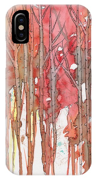 Autumn Abstract No.1 IPhone Case