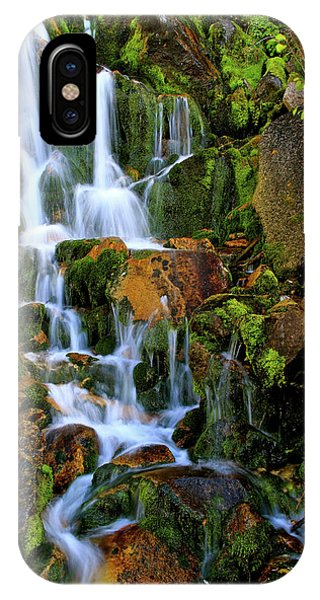 Autumn Along Summit Creek IPhone Case