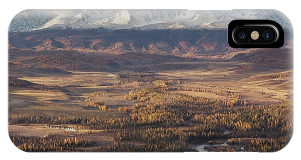 Autumn Altai Mountains Phone Case by Dmitry Kupratsevich