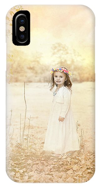 Autumn Angel IPhone Case