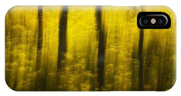 Autumn Apparitions IPhone Case