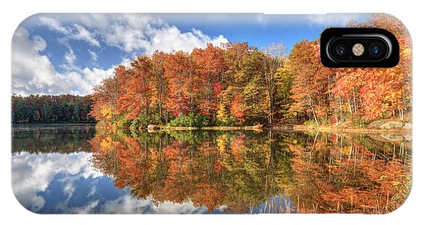 Autumn At Boley Lake IPhone Case